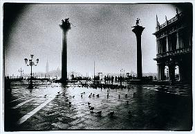 The Columns of St. Mark and St. Theodore, Piazzeta San Marco, Venice