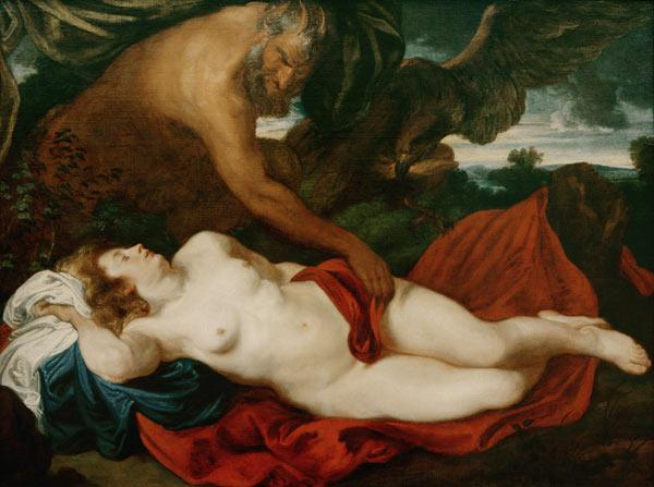 Jupiter as Satyr at Antiope