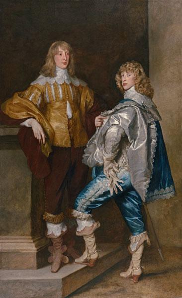 Lord John Stuart and his Brother, Lord Bernard Stuart