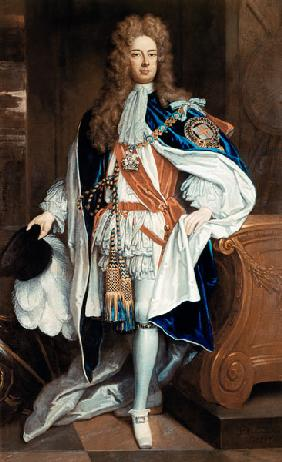 The Duke of Marlborough in Garter Robes