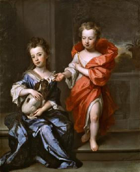 Two Children, perhaps of the Howard Family