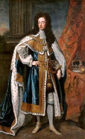 Portrait of William III (1650-1702) of Orange