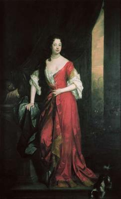 Louise de Keroualle (1649-1734) 1684 (oil on canvas)