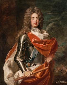 Portrait of John Churchill (1650-1722) 1st Duke of Marlborough (oil on canvas)