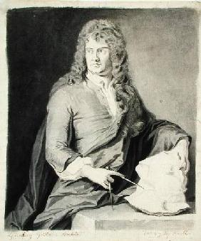 Portrait of Grinling Gibbons (1648-1721)