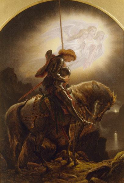 Sir Galahad''s Vision Of The Holy Grail
