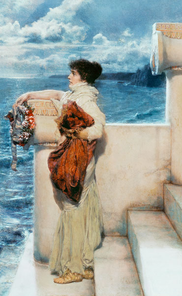 Sir lawrence alma tadema something