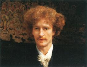 Portrait of the pianist, composer and politician Ignacy Jan Paderewski