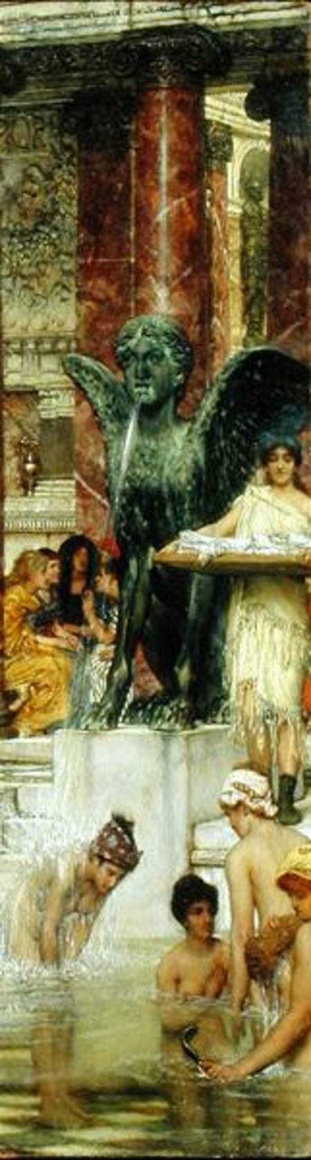 Titulo de la imágen Sir Lawrence Alma-Tadema - In the Roman Baths, or Roman Women In The Bath