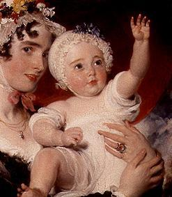 Sir Thomas Lawrence - Priscilla Lady Burghesh with her son George