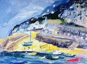 Mousehole, Cornwall, 2005 (acrylic on board)