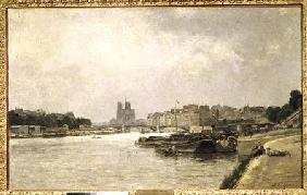 The Seine from the Quai de la Rapee