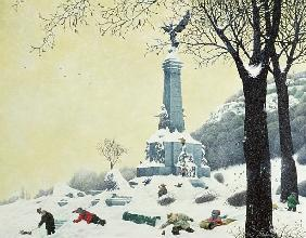 In the Park, Winter, from The Four Seasons in Quebec
