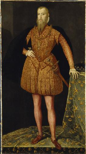 Portrait of the King Eric XIV of Sweden (1533-1577)