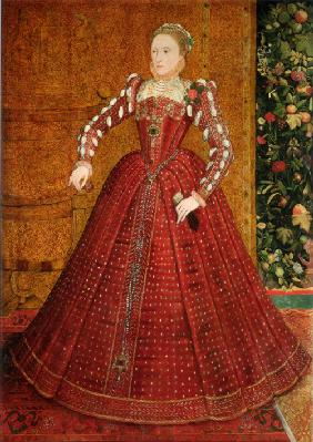 Portrait of Elizabeth I of England (The Hampden Portrait)