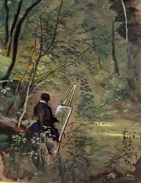 Hestercombe Woods Somerset 1834