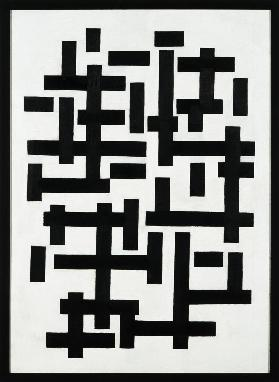 Composition black and white - Theo van Doesburg