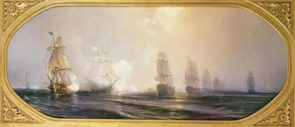 Naval Battle in Chesapeake Bay, 3rd September 1781