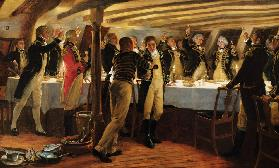 Before Copenhagen: The Ward Room of HMS Elephant, 1st April 1801