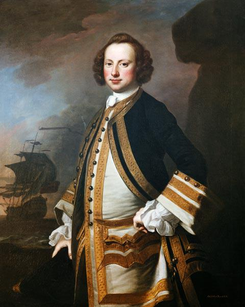 Sir George Pocock (1706-92) 1760 (oil on canvas)