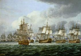 The battle of cape piece of Vincent (1797) or at t
