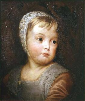 King James II as a Child, after Van Dyck