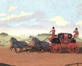 The Liverpool and London Royal Mail Coach