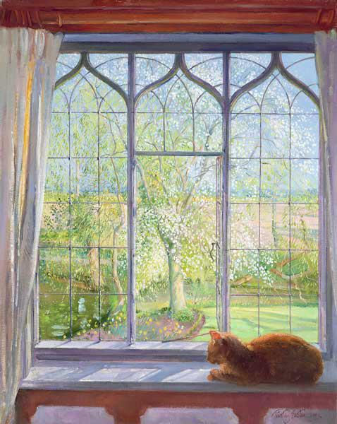 Easton, Timothy  : Window in Spring, 1992