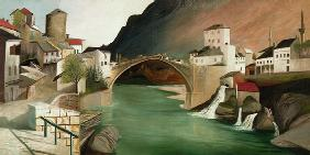 Roman bridge in Mostar