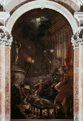 Vecellio, Tiziano : The Martyrdom of St. Lawre...