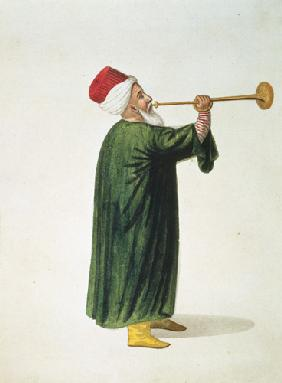 Official Trumpeter of the Janissary Military Band, Ottoman period