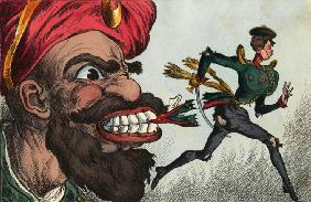 The beginning of the Crimean war by eyes of the West European caricaturist