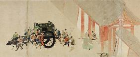 Illustrated Tale of the Heiji Civil War (The Imperial Visit to Rokuhara) 2 scroll