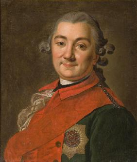 Portrait of the commander-in-chief of the fleet Count Alexey Grigoryevich Orlov of Chesma (1737–1808