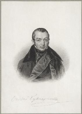 Portrait of the author Faddei Bulgarin (1789-1859)