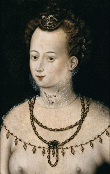 Portrait of a young lady. An Allegory of Beauty
