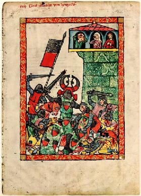 Count Albrecht II of Hohenberg (From the Codex Manesse)