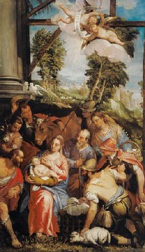 Veronese Family / Adoration of Shepherds