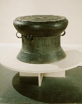 Drum, Dong Son style, 2nd-1st century BC (bronze) (see also 181009)