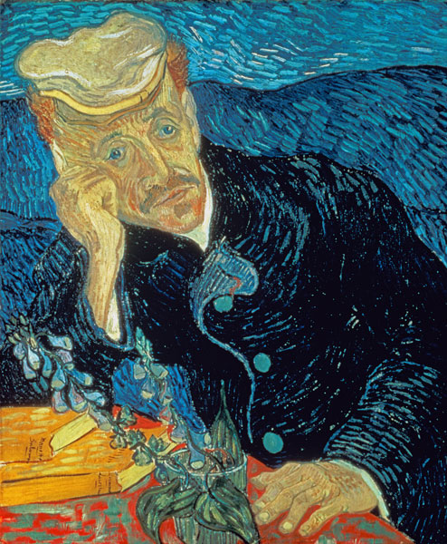 Vincent Van Gogh - Portrait of Dr. Gachet