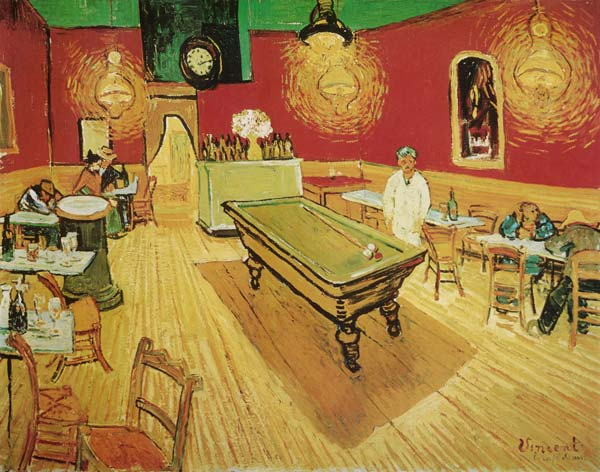 Vincent Van Gogh - The night café