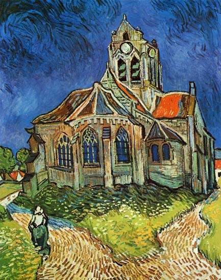La iglesia de Auvers-sur-Oise