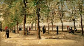 Lane at Jardin du Luxembourg