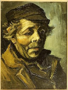 Head of a Peasant (Study for the Potato Eaters) 1885