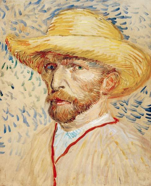 Vincent van Gogh, Self Portrait 1887