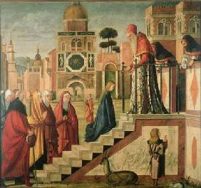 Presentation of Mary in the Temple, oil on canvas