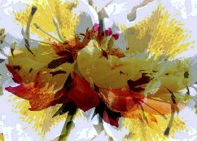 Abstract flower I