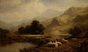 View on the Lledr, North Wales