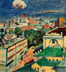 View of Muscow from the Window of Kandinsky's Flat