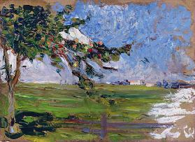 Landscape with an Apple Tree